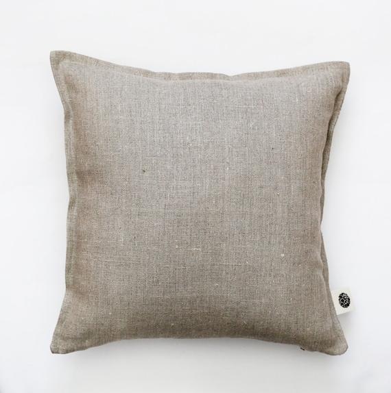 Throw Pillows Us : Linen pillow cover grey decorative cover throw pillows