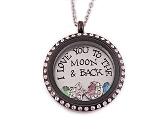 personalized i love my grandkids love locket by stampressions