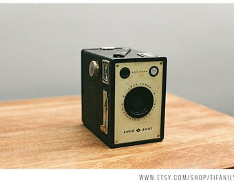 Display Camera Shur Shot Box AGFA ANSCO