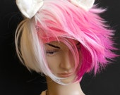 Unicorn Ears Hair Clips for fantasy fancy dress, cosplay, my little pony costume snow white hair accessory