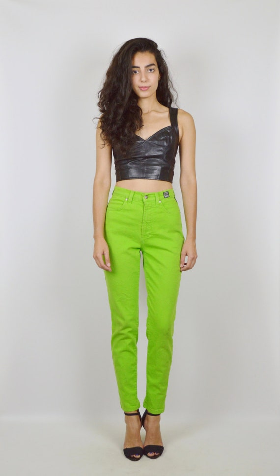 Available In Hunter Green Crepe Knit High Waist Dressy Pants Pintuck On Front 35