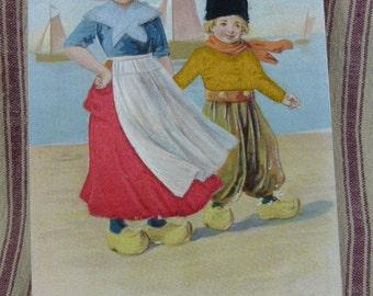Beautiful Dutch Children on the beach