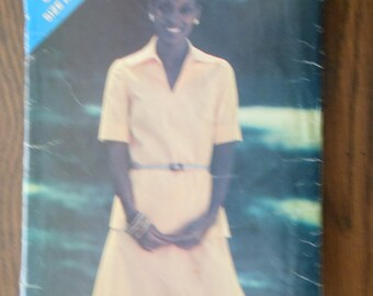 Butterick See & Sew Pattern 3199 Size A (12-14-16) - Misses Top and Skirt