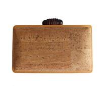 Cork clutch box / vegan clutch box