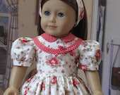 CLEARANCE SALE  Dress for Emily or Molly 1940's Sytle