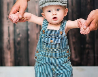 Baby Boy Hat 0 to 3 Month Gray Irish Donegal Cap Irish Hat Golf Hat Driving Cap Donegal Hat Baby Boy Clothes Photo Prop Dapper Gentleman