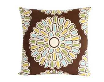 Thomas Paul Square Pillow Cover with Giant Daisy