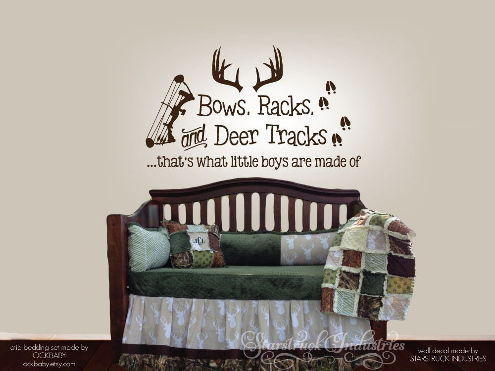 Bows Racks Amp Deer Tracks That S What Little Boys Are Made
