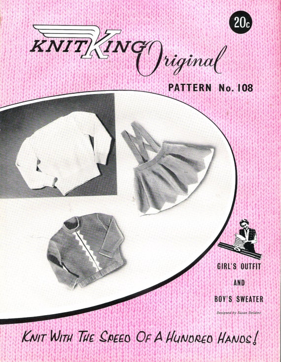 Knitting Machine Questions : Vintage s knitking knitting machine original patterns