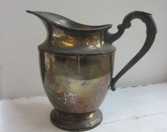 Vintage Cheshire Silver Plate Water Pitcher