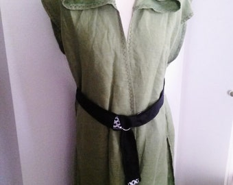 Custom Surcoat in Linen
