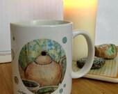 Mug Teatime with pouring joy