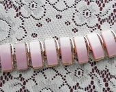 Reserved for Dawn - Costume Jewelry - Pink and Gold Costume Jewelry Bracelet