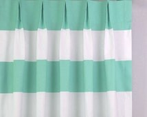 Popular Items For Mint Curtains On Etsy