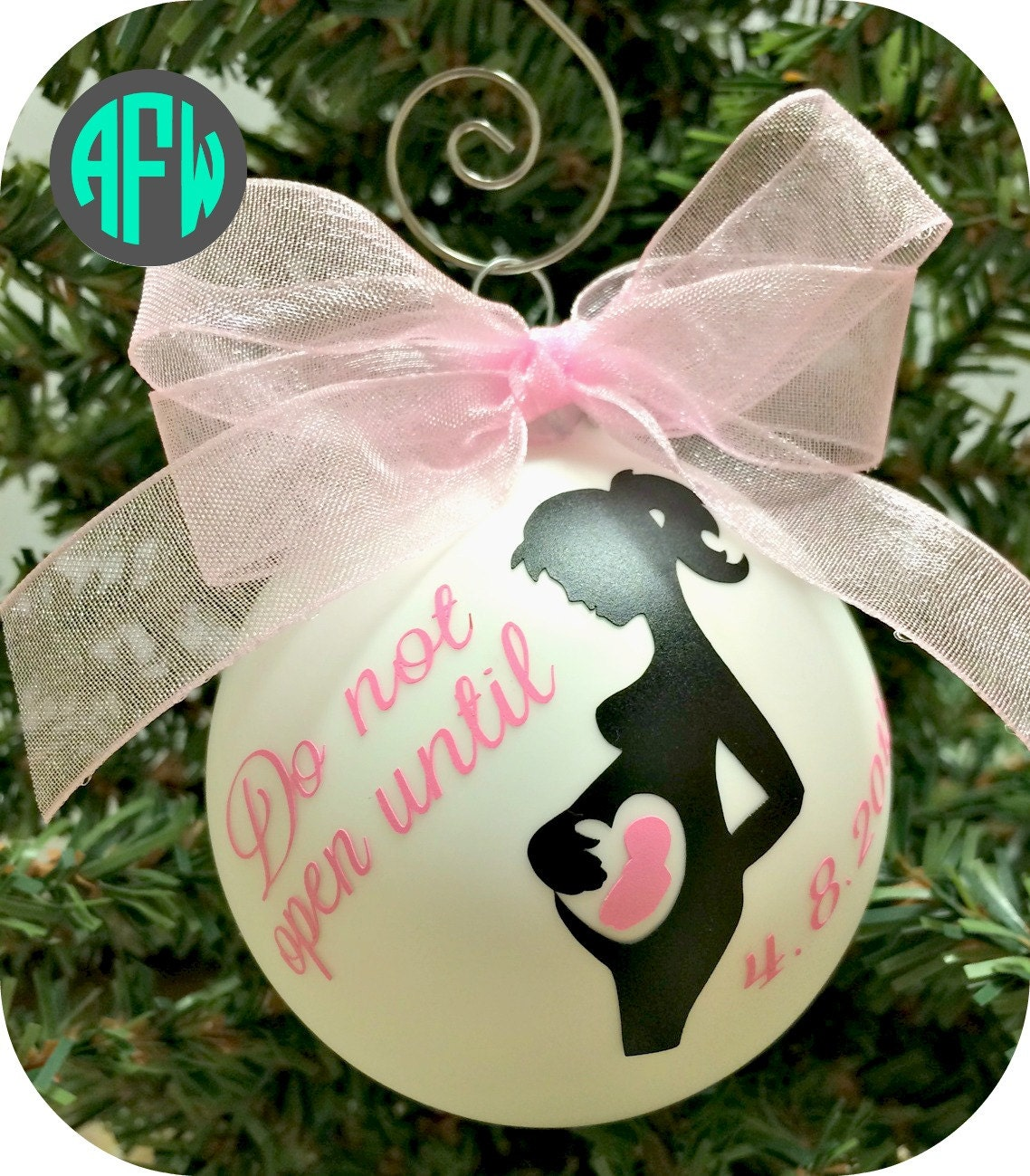 Baby Gifts For Expecting Mothers : Expecting mother ornament pregnancy gift