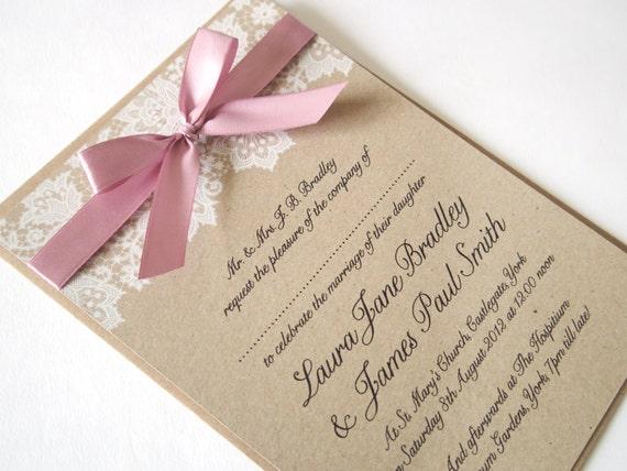 Wedding Invitations ...