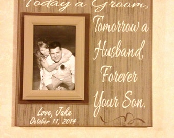 Wedding Rehearsal Gifts For Parents : Parents of the Groom Wedding Gift ~ Wedding Rehearsal Gift From Groom ...