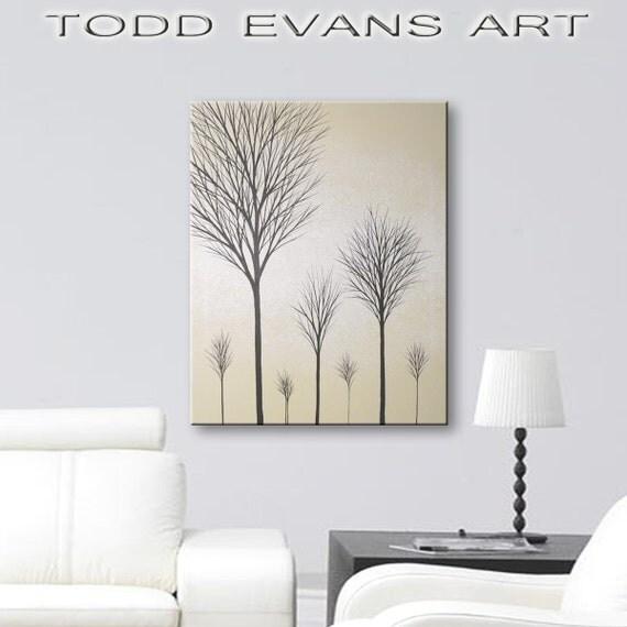 Sale Wall Art Canvas Art Paintings Original Tree Painting