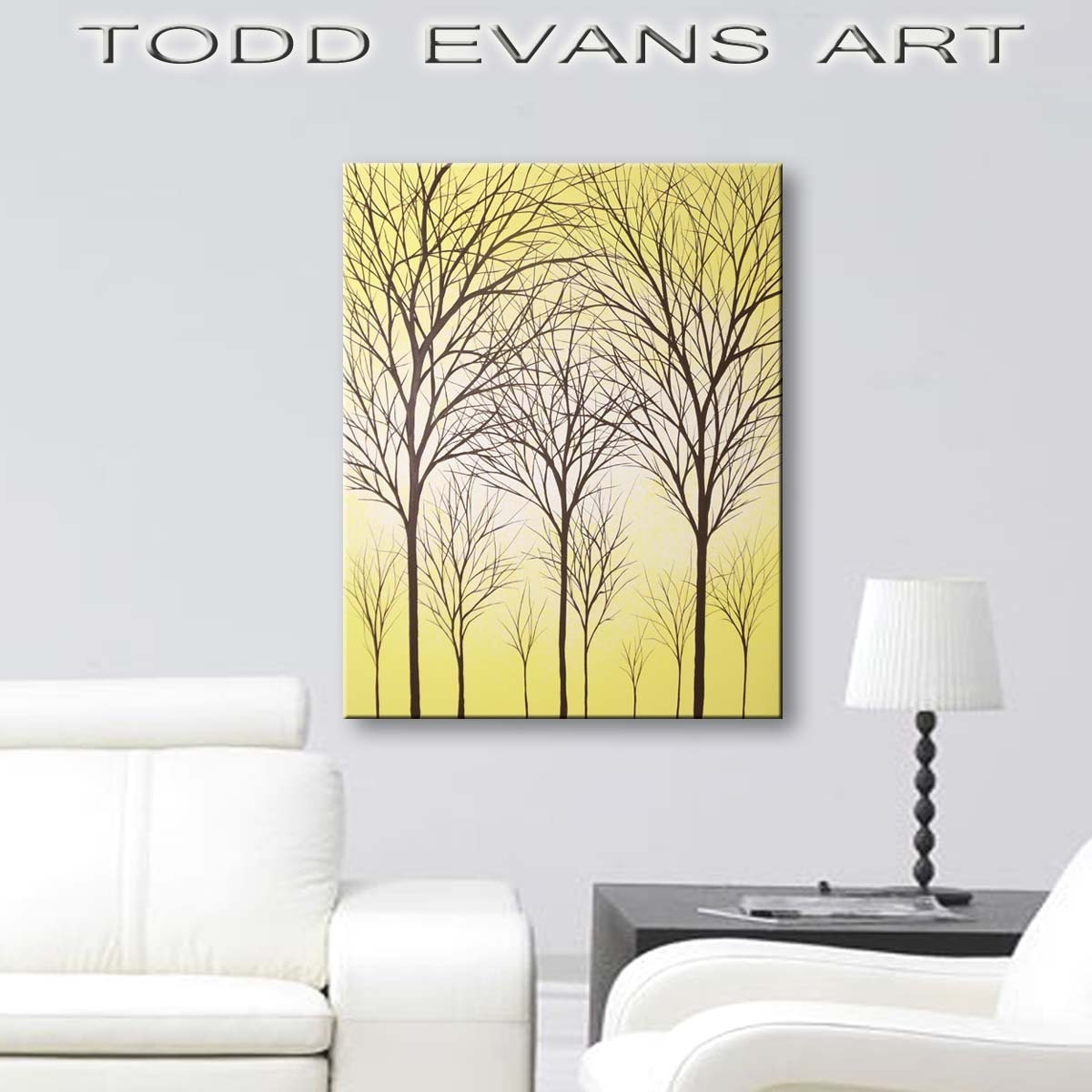 Fine Yellow Wall Decor Sale Image - Wall Art Collections ...