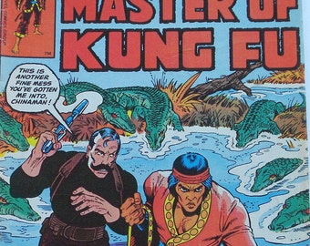 Master of Kung Fu, Marvel Comic Book No. 84 January 1979