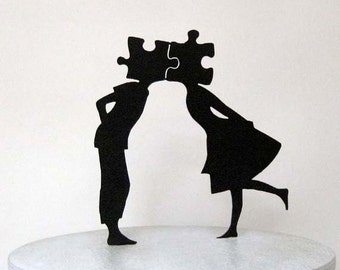 Wedding Cake Topper - Puzzle