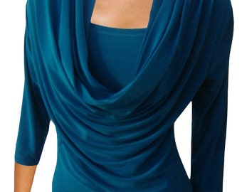 Winter Scoop Breastfeeding Nursing Top - Maternity