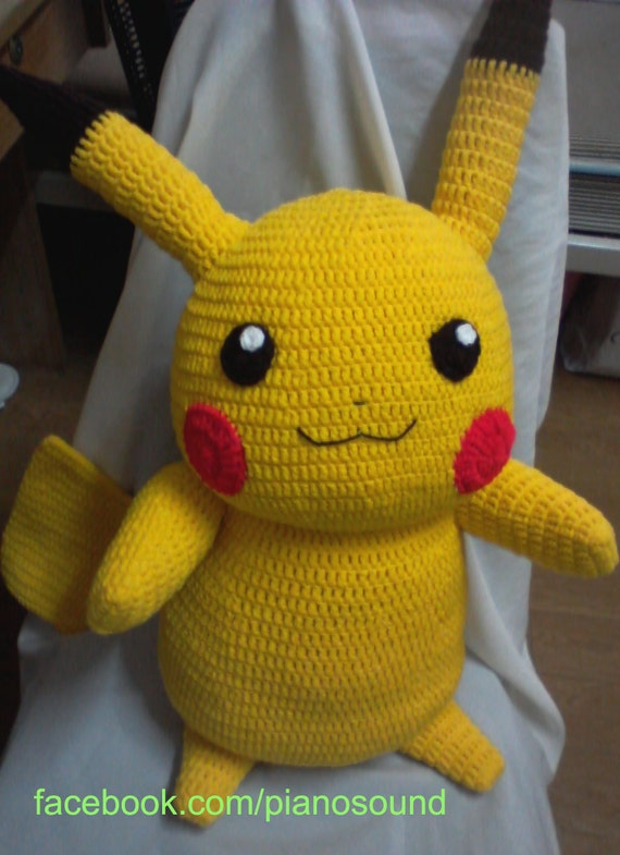 Amigurumi Patterns Pokemon : Pikachu Pikachuu Amigurumi Pokemon Pattern