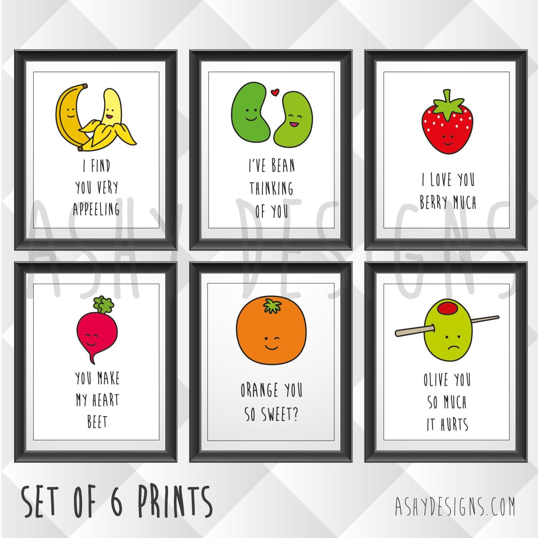 set of 6 nursery children u0027s bedroom home garden posters