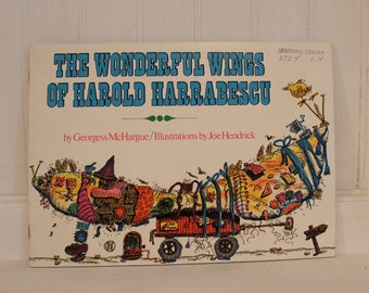 "Vintage ""Wonderful Wings of Harold Harrabescu"" Book"