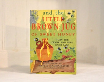 """Vintage """"Little Brown Jug of Sweet Honey"""" Booklet"""