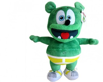 Gummibär (The Gummy Bear)  Plush Toy IRREGULAR Or DEFECTIVE