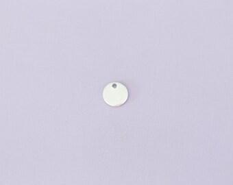 """3/8"""" Round - Aluminum Stamping Blanks - Metal Stamping Blanks - 14g - #127"""