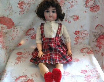 1894-1916 German Majestic Bisque & Composition Doll