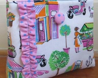 The Little Girl Hobo Handbag/Market Theme