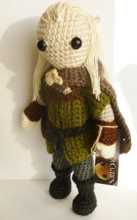 Amigurumi Magische Ring : amigurumi art doll Inspired by Legolas from by LilKillerCuties