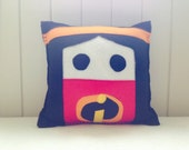 Violet Parr Incredibles themed cushionpillow.