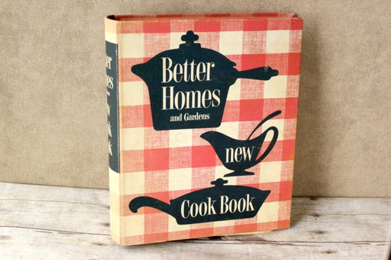 Vintage cookbook 1950 39 s better homes and gardens - Vintage better homes and gardens cookbook ...