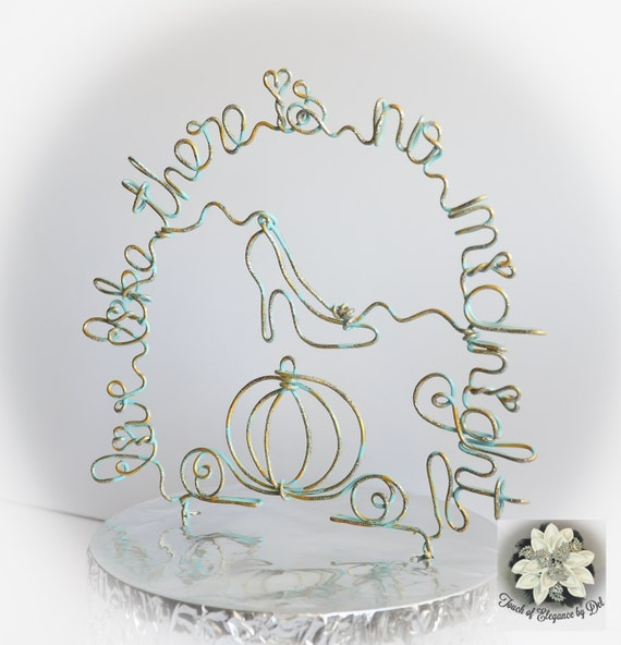 Fairytale Carriage Cake Topper