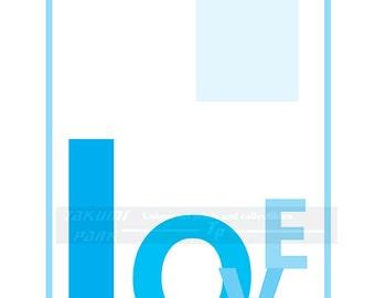 Love Art Print, Bedroom Decor, Home Decor, Typographic Print,Love Quote, Minimalist Art Print, Word Artwork, Quote Art Print, Love Decor,