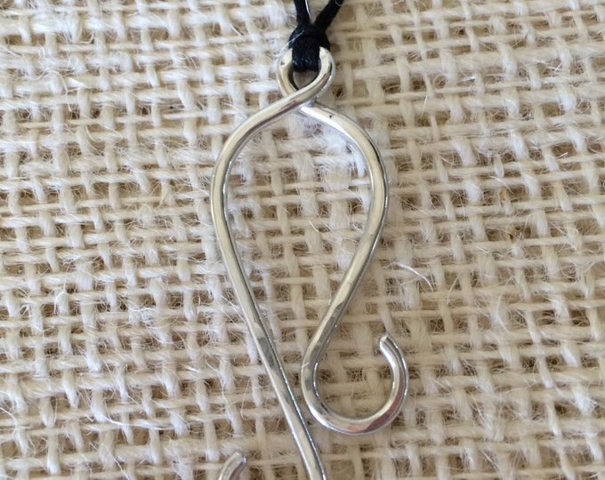 Pendant - Jig Hook Necklace for Portuguese Knitting