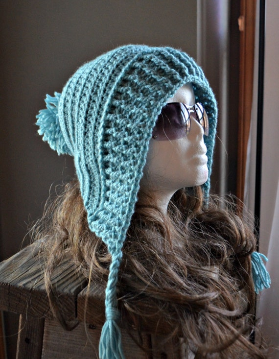 Crochet Tassel Hat Pattern For Baby : CROCHET PATTERN-Tallulah Tassel Hood Crochet by ...