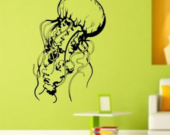 Jellyfish Version 111 Vinyl Wall Decal Sticker Decals Walls Art Graphic
