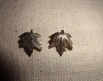 Vintage Clip on Earrings 1 inch length Venice Beach find