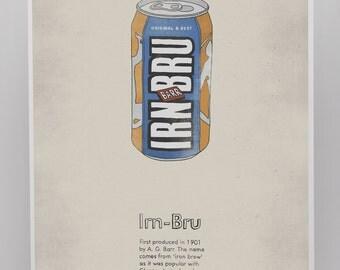 Irn-Bru A3 Poster
