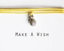 Make A Wish Pineapple Bracelet