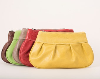 Womens leather pouch, colours, LADY POUCH