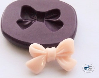 Small Bow Ribbon Mold/Mould - Silicone Molds - Polymer Clay Resin Fondant
