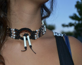 J3-For Adult / Children : Handmade Bone Chokers / Necklace