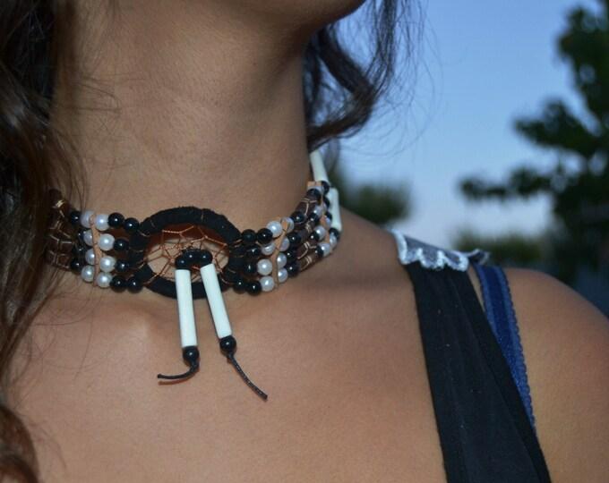 J3-For Adult / Children : Handmade Bone Chokers / Necklace