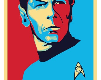Spock: LLAP (Live Long And Prosper) Print